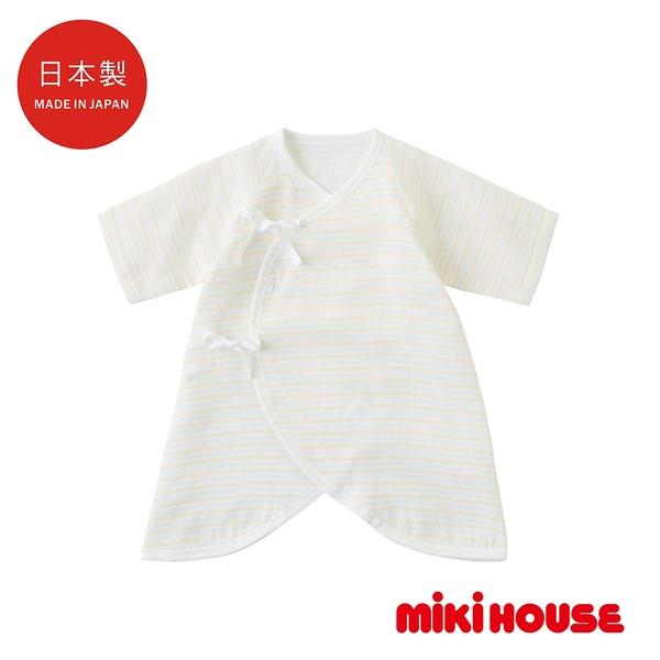 MIKI HOUSE BABY 日本製 雙層紗布蝴蝶衣