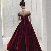 禮服 敬酒服新娘新款結婚訂婚回門顯瘦宴會晚禮服裙女平時可穿長款
