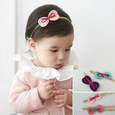 ◎愛寶貝◎C124025韓式熱賣款超萌撞色棉布皮繩兒童髮帶 兒童頭飾 拍照造型 寶寶照