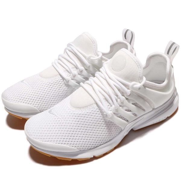 Nike 休閒慢跑鞋 Wmns Air Presto 白 全白 膠底 小白鞋 低筒 魚骨鞋 女鞋【PUMP306】 878068-101