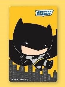 正義聯盟《蝙蝠俠》一卡通 普通卡