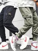工裝褲工裝褲男哈倫潮牌束腳韓版潮流運動休閒長褲寬鬆男士秋季2020春季新品