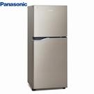 【送基本安裝+免運】Panasonic 國際牌 167公升 變頻雙門小電冰箱NR-B170TV-S1星耀金-單身貴族小家庭