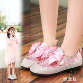 公主鞋 女童皮鞋2018新款秋季韓版中大童軟底小女孩寶寶單鞋兒童 QG7749『優童屋』