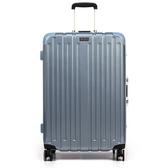 ALLDMA - 27吋 鋁框拉桿行李箱 三色可選 - V5-Q627冰晶藍