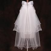 兒童頭飾兒童發飾婚紗女童配飾公主裙配飾寶寶舞臺表演寫真拍攝頭紗 嬡孕哺