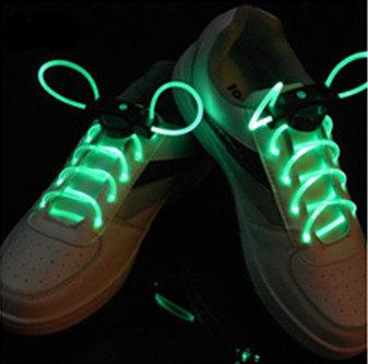 薇嘉雅      LED光纖發光鞋帶(綠光)
