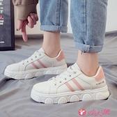 小白鞋 2021年秋冬季爆款小白鞋新款學生百搭網紅板鞋運動老爹女鞋潮 小天使