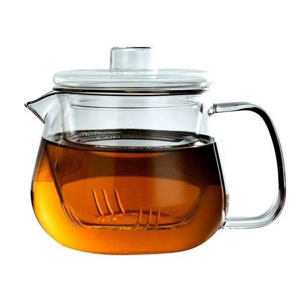 班意耐熱玻璃茶壺花草茶壺泡茶壺透明過濾茶壺 耐高
