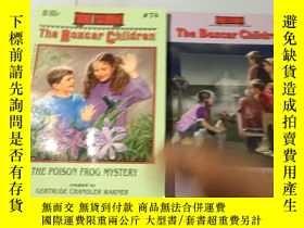 二手書博民逛書店英文原版:The罕見Poison Frog Mystery+th