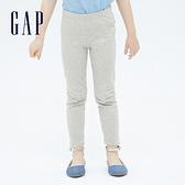 Gap女幼童 可愛彈力針織長褲 689380-灰色