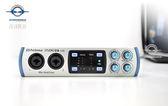 【音響世界】PreSonus Studio 26 2X4 USB2.0 24bit/192KHz高取樣錄音室級介面/音效卡