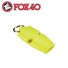 【Fox 40 哨子/繩索 micro sa《淺黃》】9513-1308/高音哨/求生哨/訓練哨