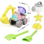 兒童沙灘玩具車套裝大號寶寶玩沙子挖沙漏鏟子工具 兒童玩具