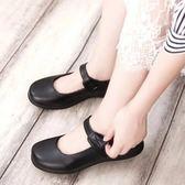 牛津鞋 日系學生鞋女仆鞋日本JK制服鞋 cos萬用洛麗塔lolita皮鞋黑色 芭蕾朵朵