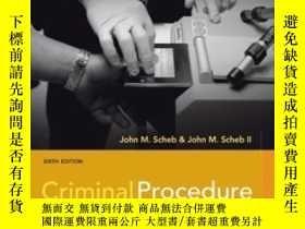 二手書博民逛書店Criminal罕見ProcedureY307751 John M. Scheb; Ii John M. Sc