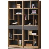 書櫃 書櫥 BT-110-22A 歐都納原切橡色5.3尺書櫃【大眾家居舘】