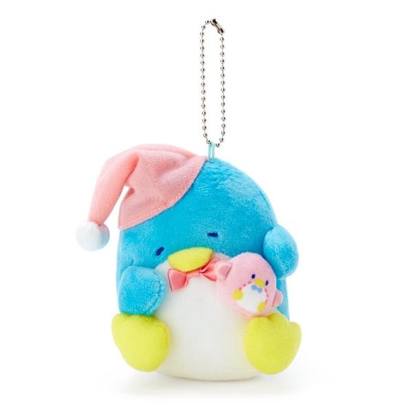 小禮堂 山姆企鵝 絨毛吊飾 (生日快樂系列) 4550337-65393