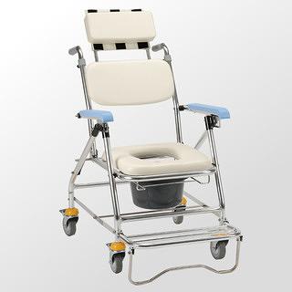 均佳 鋁合金背可調洗澡椅/便器椅JCS-207