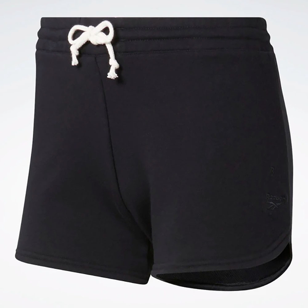 REEBOK TRAINING ESSENTIALS 女裝 短褲 慢跑 休閒 舒適 透氣 黑【運動世界】FK6661