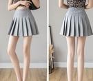 百褶裙短裙女夏新款高腰