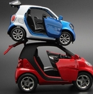 汽車模型 兒童男孩可愛玩具小汽車模型合金車模好玩仿真回力聲光【快速出貨八折鉅惠】