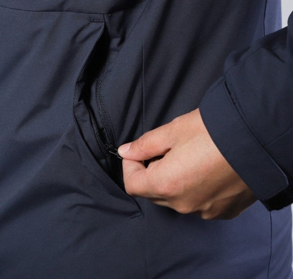 ADIDAS 3ST DOWN JACKET 男裝 羽絨外套 可拆連帽 防潑水 保暖 藍【運動世界】EH3997