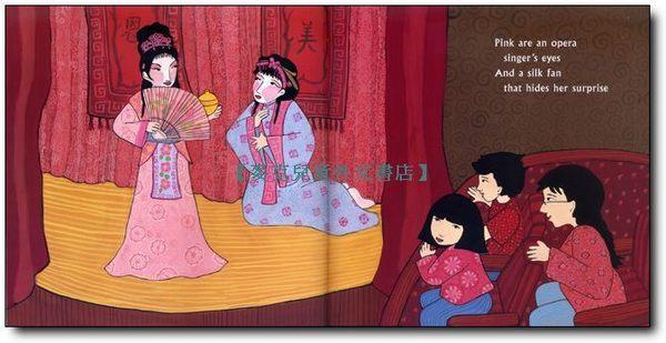 【麥克書店】RED IS A DRAGON  /英文繪本《中國新年》