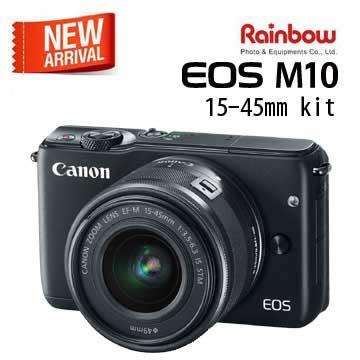 ★申請送拉拉熊+包 至9/30★Canon EOS M10 15-45 kit