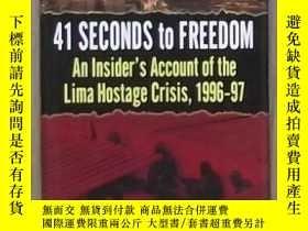 二手書博民逛書店英文原版罕見41 Seconds to Freedom by L