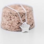 項鍊 925純銀吊墜-星星可愛生日聖誕節交換禮物女飾品73gj54【時尚巴黎】