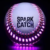 SPARK CATCH 發光棒球 與MLB棒球相同重量,大小和真皮 藍/綠/紅/紫 [2美國直購]