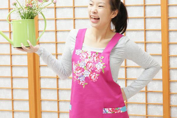 鹿港窯-母親節精選禮物~Hot最新流行阿媽布花【圍裙、工作裙】購物內容:1件
