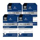 《台塑生醫》Dr's Formula7-IN-1男進化全效調理面膜(7片/盒)*4入