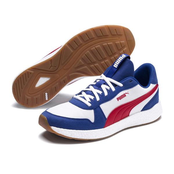 Puma NRGY 男 藍白 運動鞋 慢跑鞋 Neko Retro 緩衝 跑步 健身 復古運動鞋 19250909