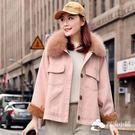 牛仔外套 新款韓版牛仔棉衣女短款寬松加厚...