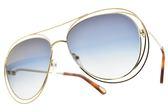 Chloe 太陽眼鏡 CE134S 793 (金-漸層藍鏡片) 漸層造型款 墨鏡 # 金橘眼鏡