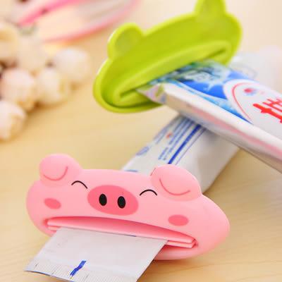 【全館5折】WaBao 卡通造型擠牙膏器 =D02508=
