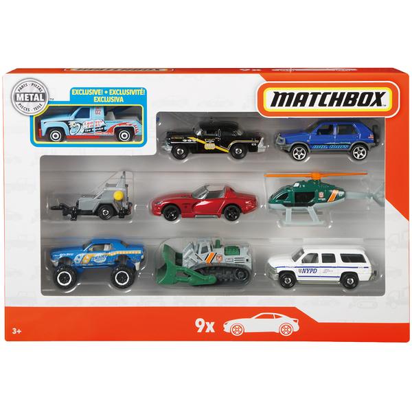 火柴盒小汽車Matchbox 9入組