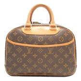 LOUIS VUITTON LV 路易威登 原花手提包 小珍包 Trouville M42228【BRAND OFF】