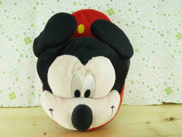 【震撼精品百貨】Micky Mouse_米奇/米妮 ~毛拖鞋-米奇