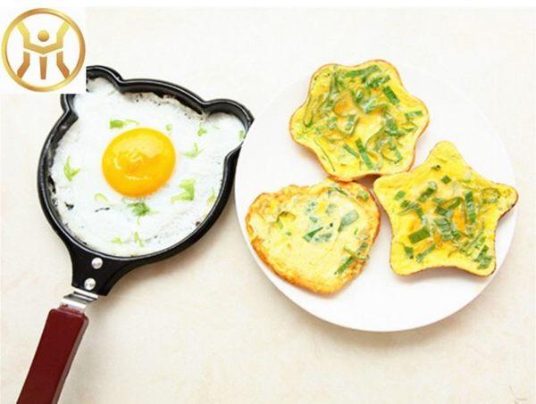 溫馨早餐煎蛋鍋 卡通煎蛋器煎鍋迷你煎餅鍋創意愛心煎蛋鍋【現貨】(L034)