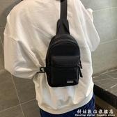 女包包新款胸包女士韓版潮斜跨包帆布包單肩包男運動時尚腰包 聖誕節免運