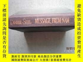 二手書博民逛書店DANIELLE罕見STEEL MESSAGE FROM NAM