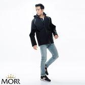【MORR】Techler 流線剪裁機能防水外套 【個性黑】防水/透濕/透氣/戶外活動