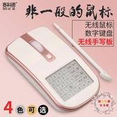 交換禮物-賽科德7s多功能無線滑鼠手寫板靜音男女生筆電無限游戲
