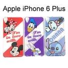 迪士尼透明軟殼 iPhone 6 Plus / 6S Plus (5.5吋) [最佳拍檔] 米奇 米妮 唐老鴨 史迪奇【Disney正版授權】