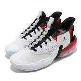 Nike 籃球鞋 Jordan React Elevation PF 白 紅 男鞋 運動鞋 喬丹 D77 【ACS】 CK6617-100