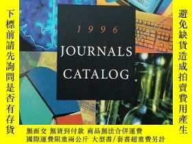 二手書博民逛書店1996罕見journals catalog( :A686)Y1