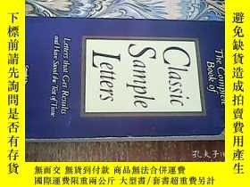 二手書博民逛書店Classic罕見Sample LettersY238458 出